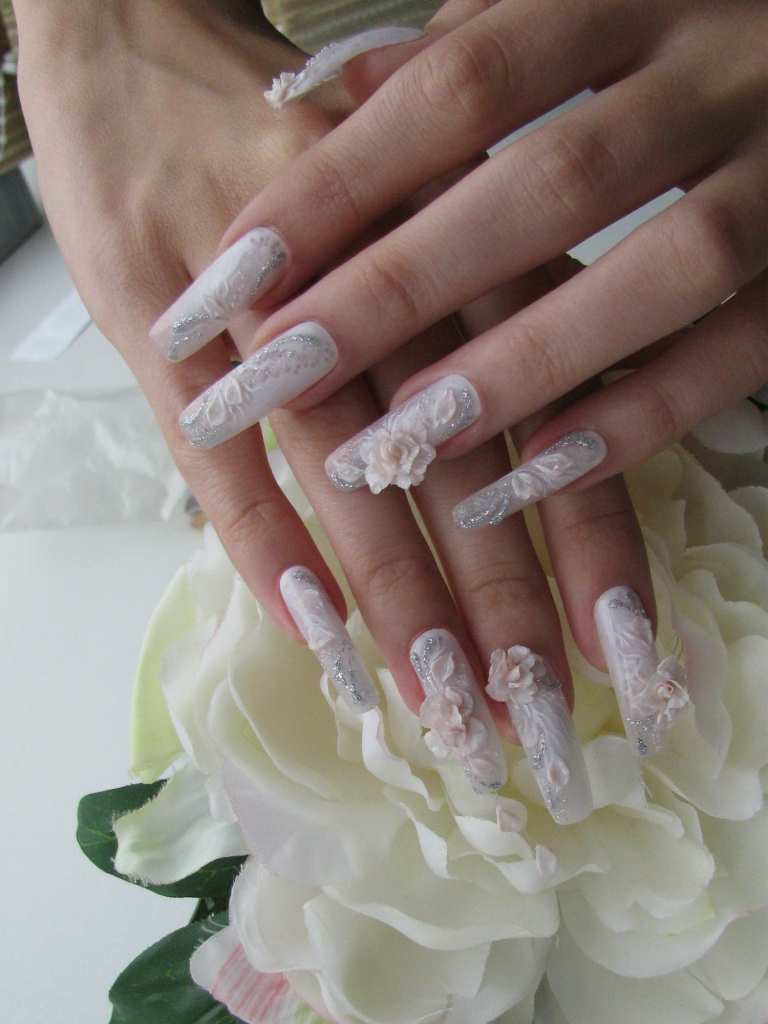 Маша дизайн ногтей