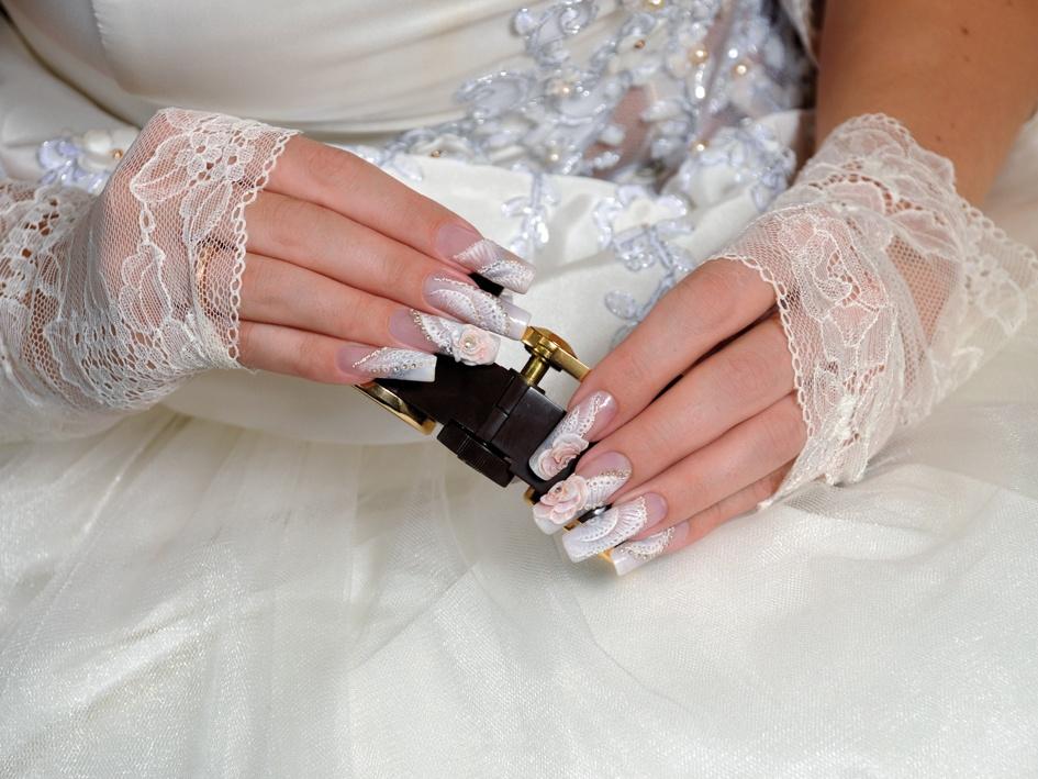 Дизайн свадебных ногтей фото новинки