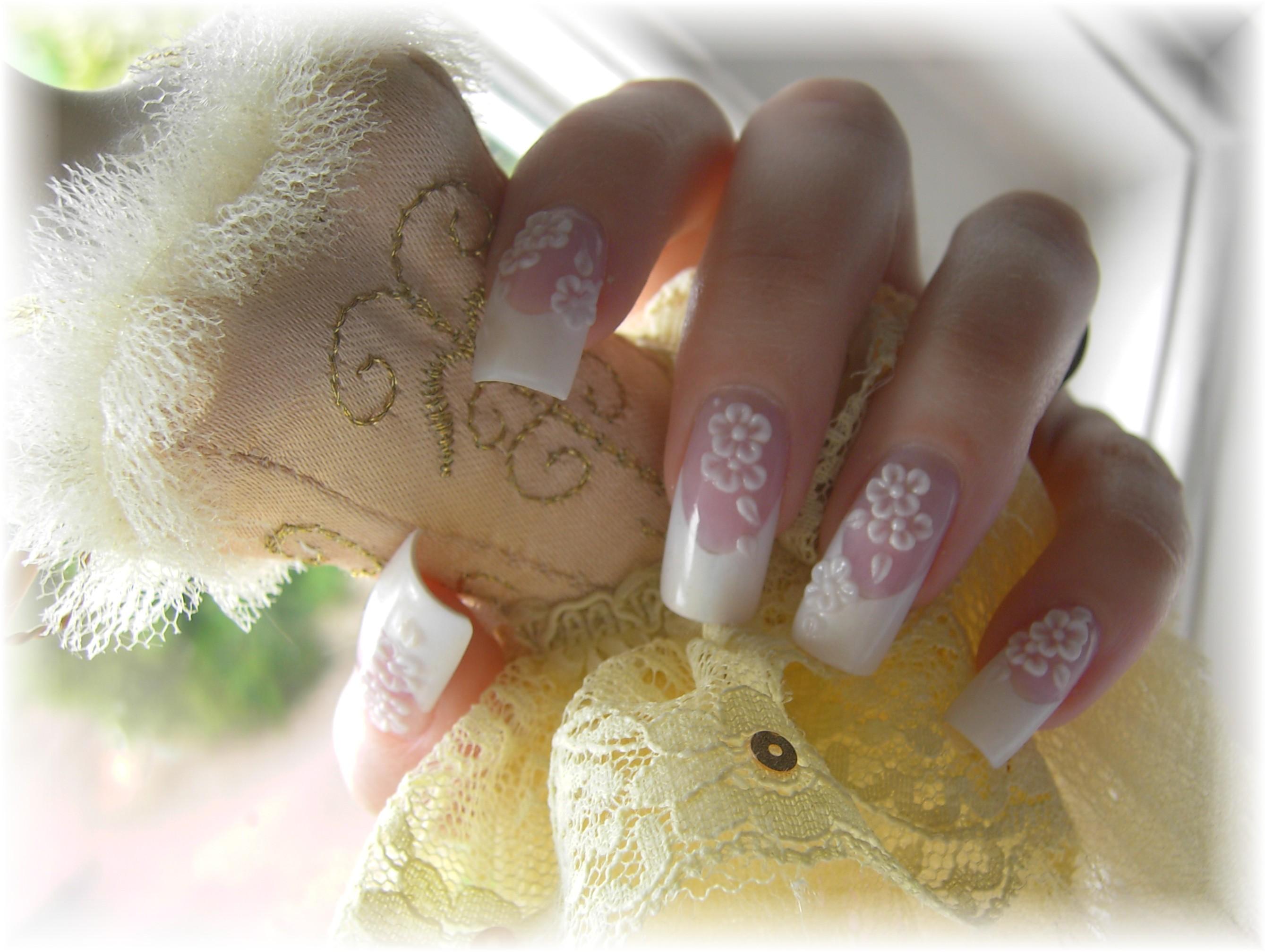 Красивые ногти для свадьбы